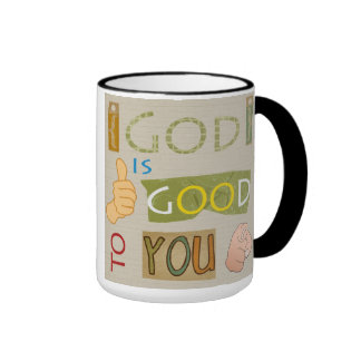 Caneca God is Good to You