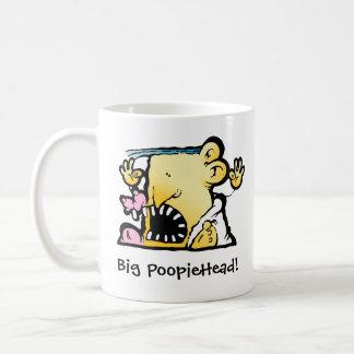 Caneca grande de PoopieHead