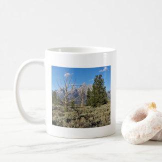 Caneca grande do parque nacional de Teton