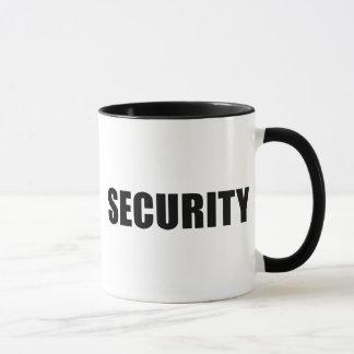 Caneca Grupo da segurança do evento