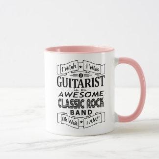 Caneca Grupo de rock clássico impressionante do