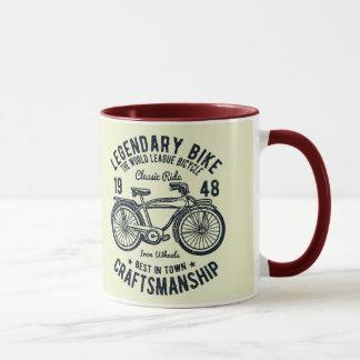 Caneca Habilidade legendária da bicicleta da bicicleta
