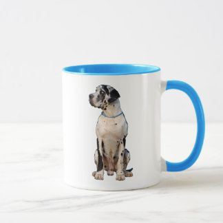 Caneca Harlekin great dane