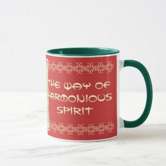 caneca harmoniosa do espírito