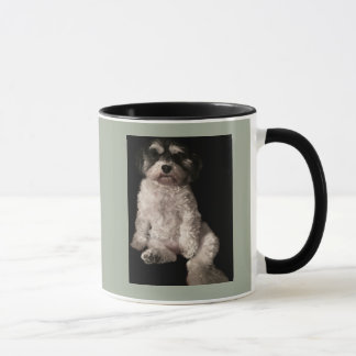 Caneca Havanese-pnha a imagem do seu cão aqui