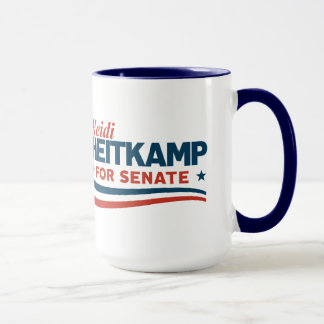 Caneca Heidi Heitkamp para o Senado