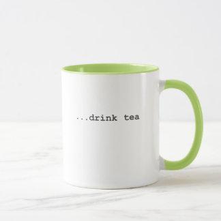 Caneca História do usuário - chá da bebida