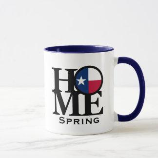 Caneca HOME de Texas do primavera