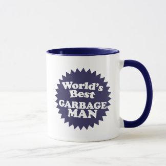 Caneca Homem de lixo do mundo o melhor