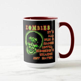 Caneca Humor dos zombis