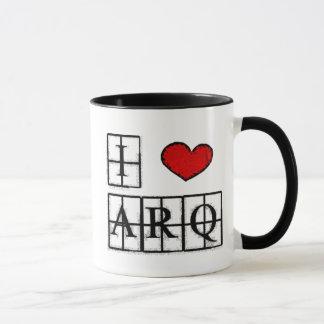 Caneca I love ARQ
