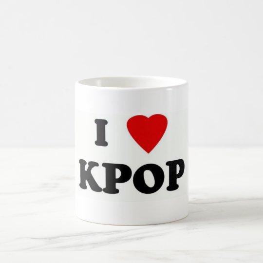 caneca i love kpop