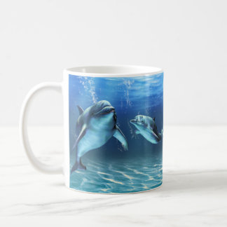 Caneca ideal do golfinho