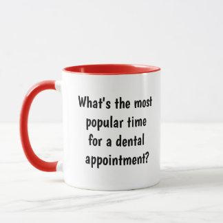 Caneca Ideia do presente do dentista - chalaça engraçada