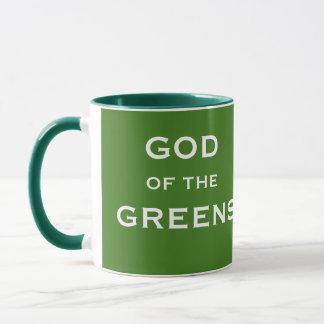 Caneca Ideia engraçada do presente do Greenkeeper -