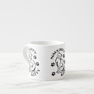 Caneca impertinente do café do gatinho caneca de café
