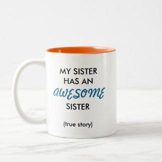 Caneca impressionante da irmã