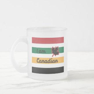 Caneca (inglesa) canadense moderna do fosco da