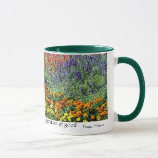 Caneca inspirada das citações do jardim