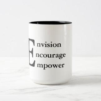 Caneca inspirada e inspirador