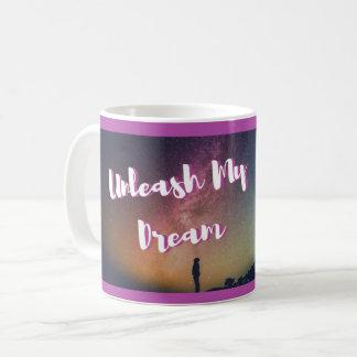 Caneca inspirador - desencadeie meu sonho