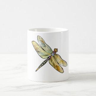 Caneca iridescente da libélula