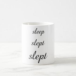 caneca irónica do clássico do sono
