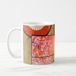 Caneca japonesa do quimono