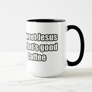 Caneca Jesus doce que é bom café