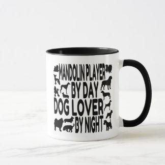 Caneca Jogador do bandolim do amante do cão
