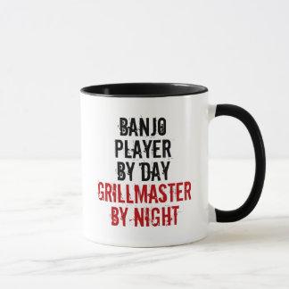 Caneca Jogador do banjo de Grillmaster