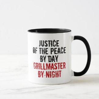 Caneca Justiça de Grillmaster da paz