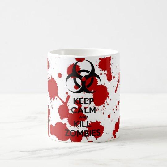 Caneca Keep Calm And Kill Zombies