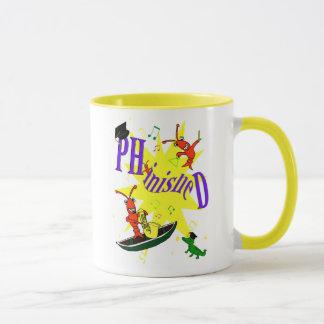 """Caneca Lagostins PH.d. """"Phinished """" de Cajun"""