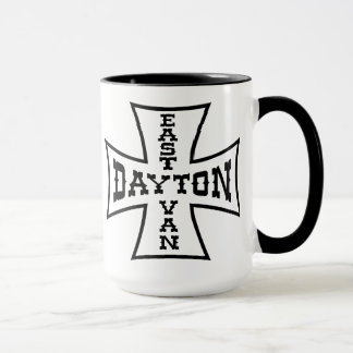 Caneca Leste Van Ferro Cruz da campainha de Dayton
