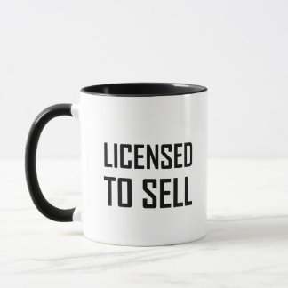 Caneca Licenciado para vender
