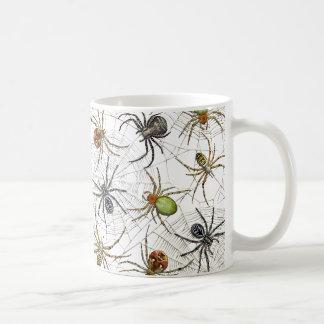 Caneca líquida das aranhas