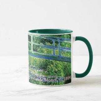 Caneca Lírios de água e ponte japonesa, Claude Monet
