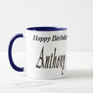 Caneca Logotipo conhecido de Anthony,
