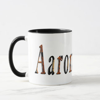 Caneca Logotipo conhecido dos meninos de Aaron,