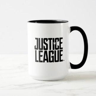 Caneca Logotipo da liga de justiça da liga de justiça |