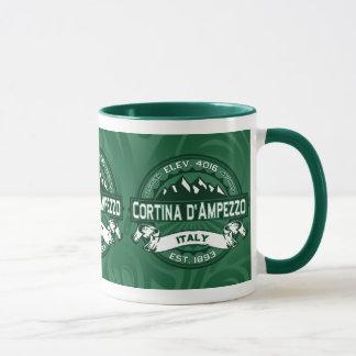 Caneca Logotipo de Cortina d'Ampezzo