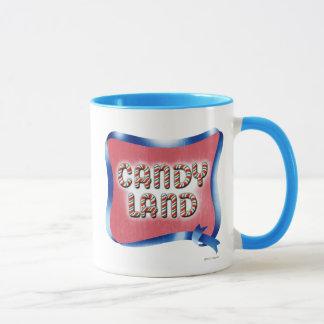 Caneca Logotipo envelhecido terra dos doces