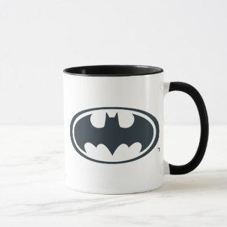Caneca Logotipo preto e branco do símbolo | de Batman