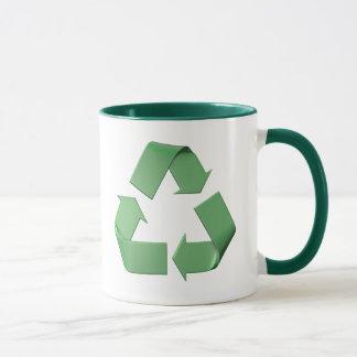 Caneca Logotipo reciclagem