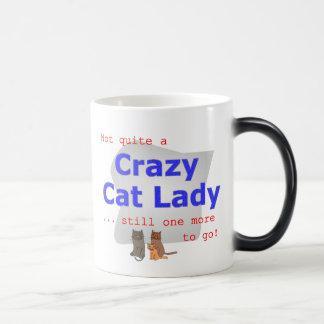 Caneca louca da senhora do gato