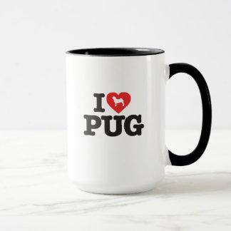 Caneca Love Pug