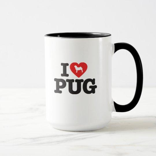 Caneca Love Pugs