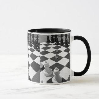 Caneca Mag do café da paixão da xadrez