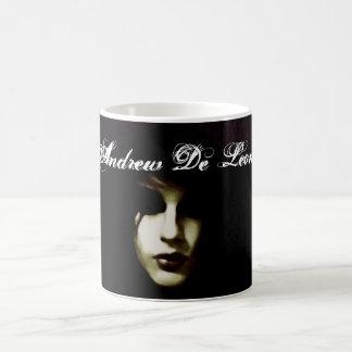 Caneca Mágica Andrew De Leon - copo de café oficial do Vamp